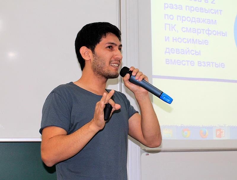 Рустам Хамдамов об Интернете вещей и о стремлении