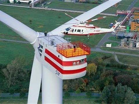 большие ветряки, ветрогенетарторы большие