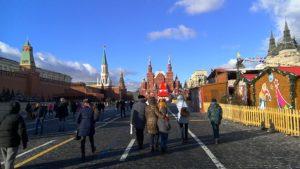 Красная площадь, путешествие в Москву