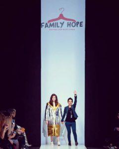 женское предпринимательство Узбекистан, FamilyHope на показе Mercedes-Benz