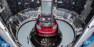 Roadster на Falcon Heavy